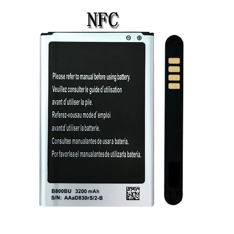 OHD 3200mAh Lithium-ion Replacement  Battery B800BU B800BC B800BE for Samsung Galaxy Note 3 III N9000 N9005 N9006 N9009 with NFC