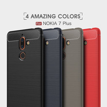 Case For Nokia 7 Plus Cover Silicon 9 2 1 Soft Silicone TPU Hoesje Coque Funda Etui Hull