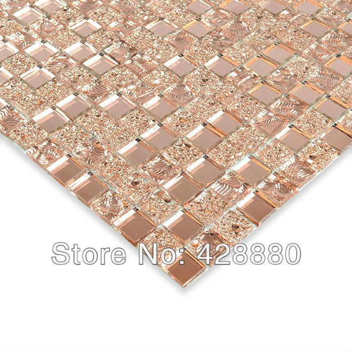 Crystal Glass Wall Tiles Mirror Tile Backsplash Kitchen - mirror tiles with wall designs