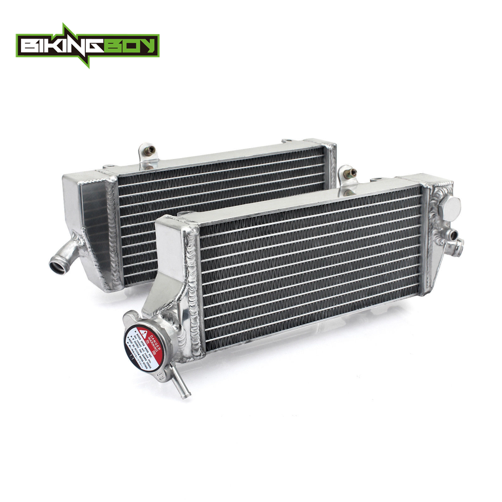 BIKINGBOY Engine Radiators Water Cooling for <font><b>KTM</b></font> <font><b>EXC</b></font> 500 <font><b>EXC</b></font>-<font><b>F</b></font> XCF-W 250 <font><b>350</b></font> XC-W 450 500 2012 2013 2014 2015 <font><b>2016</b></font> Motorcycle image