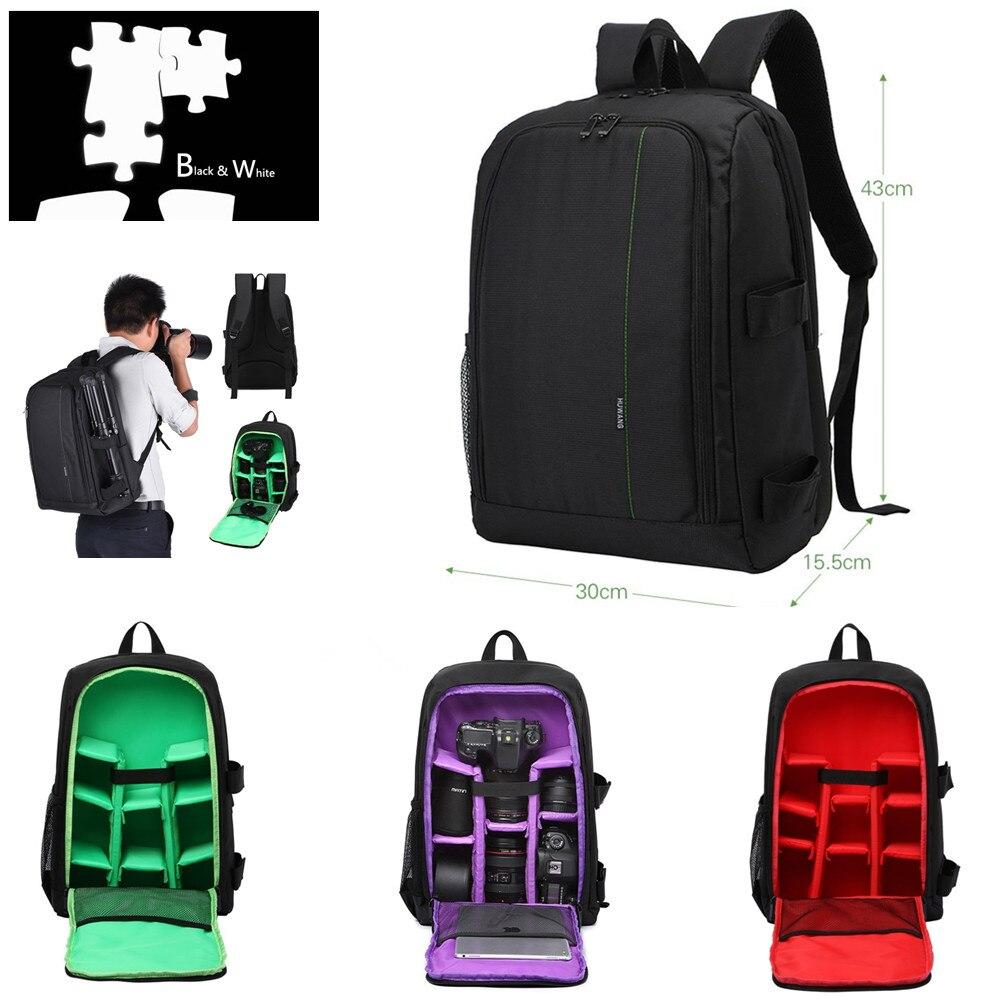 DSLR Camera Bag Backpack For Sony Alpha A9 A7S A7R III A7 III II A33 A33V A35 A37 A55 A55V A56 A57 A58 A65 A68 A77 A99 Mark II 2