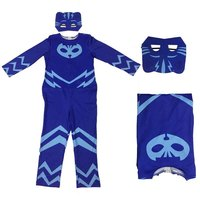 Kids PJ Masks Coplay Jumpsuit NEW Super Hero Baby Masks Hero Connor Greg Amaya Owlette Classic