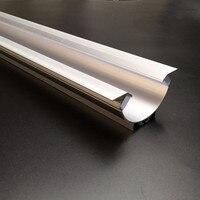 10pcs 1m/pcs led aluminum channel for led strips led profile aluminum housing Model 49