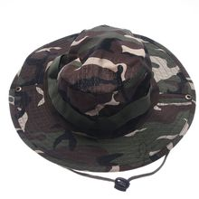 ФОТО bucket hat fishing hunting boonie cap unisex military camo wide brim outdoor cap accessories military army american military men