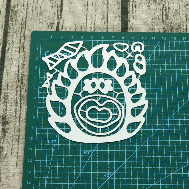 Hedgehog  Metal Cutting Dies Stencils For Card Making Decorative Embossing Suit Paper Cards Stamp DIY