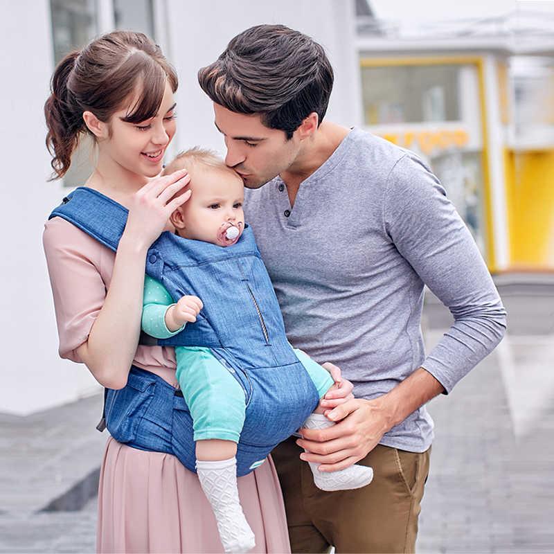 Bebek taşıyıcı HAVA YASTıĞı hipseat dolgu ayarlamak carrie geniş Bebek Rahat asma sırt çantası o-tipi bacaklar Ergonomik bebek taşıyıcıları