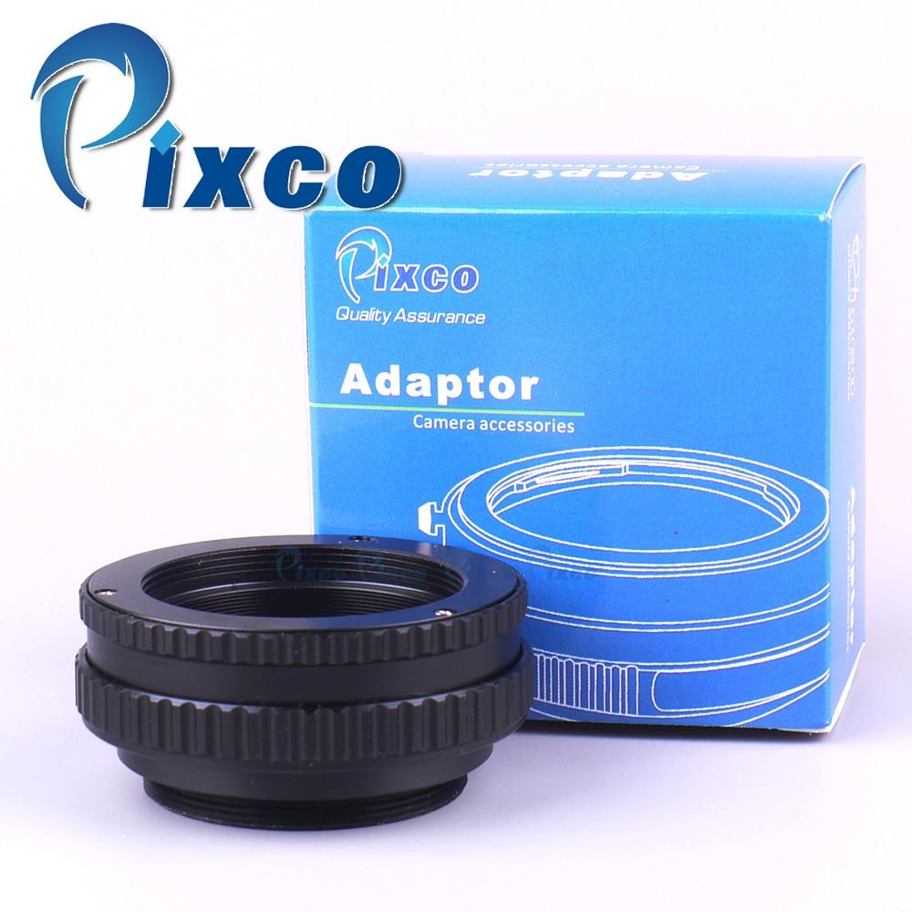 M42 Lens Adjustable Focusing Helicoid Macro Tube 22-42mm/10-13.5mm + Lens Adapter M42/C Mount Lens to for Fuji FX Camera микрофоны madboy c tube 10
