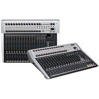 믹싱 콘솔 레코더 48 v 팬텀 파워 모니터 aux 효과 경로 16-24 채널 오디오 믹서 usb 99 dsp 효과 lci