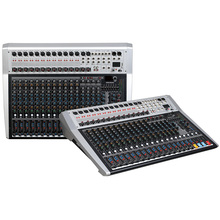 Mixing console recorder 48 V phantom power monitor AUX effect path 16 24 channel audio mixer