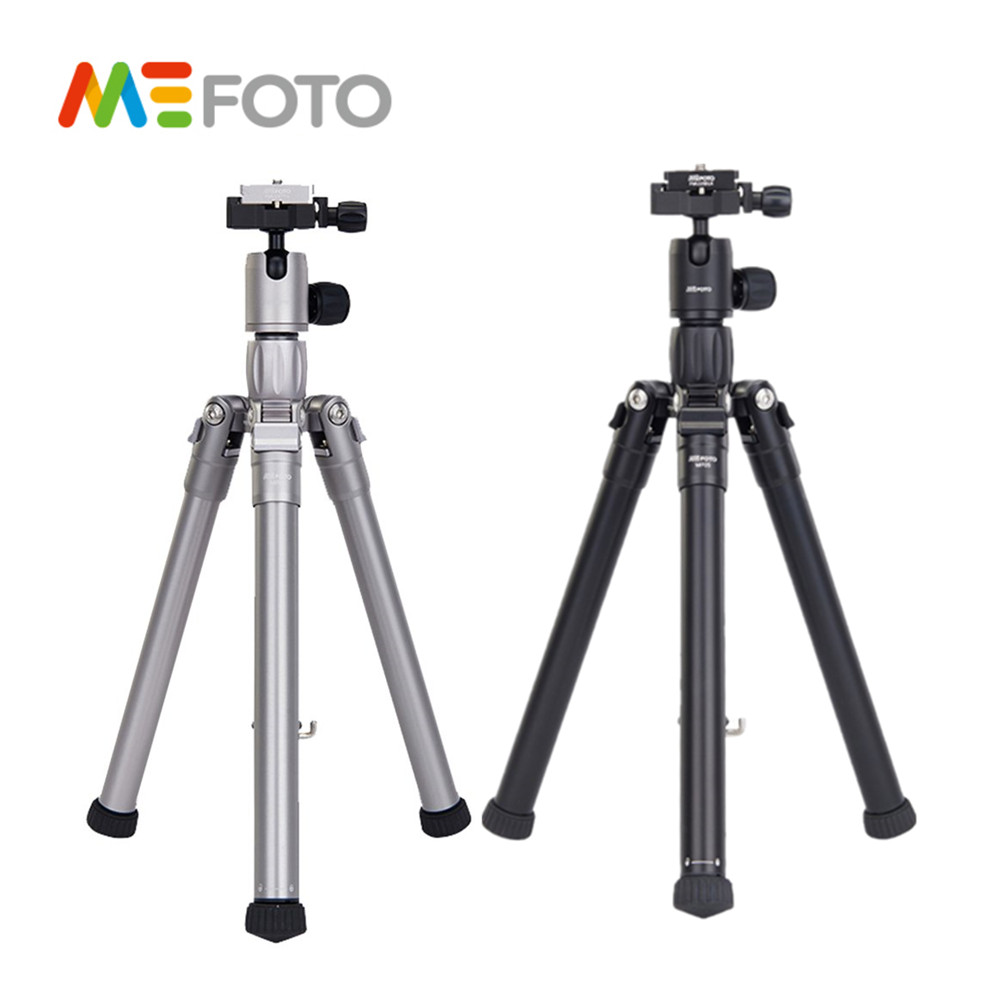 MEFOTO MF05 Professional Tripod SLR Camera 5 Sections Reflexed Monopod Portable Auminium Photographic Bracket Accessory mefoto mf05 tripod reflexed monopod selfie stick mini portable tripod for camera with ball head 5 section dhl free shipping
