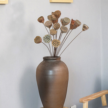 New artificial plant lotus plastic flower wedding home decoration table dried flowers branches