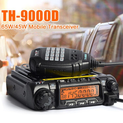 TH-9000D de Radio móvil o Walkie Talkie VHF136-174MHz 60W/TH9000D 45W, TYT UHF400-490MHz, última versión