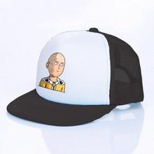 Snapback-Caps One-Punch Funny Baseball-Cap Trucker-Hat Anime Japanese Cartoon Man Comic