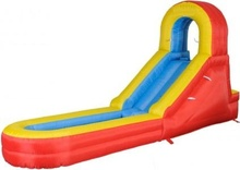 2016 Best quality inflatable water slide for sale / commercial use inflatable slide with pool for sale outdoor commercial use giant inflatable double lane water slide with arch