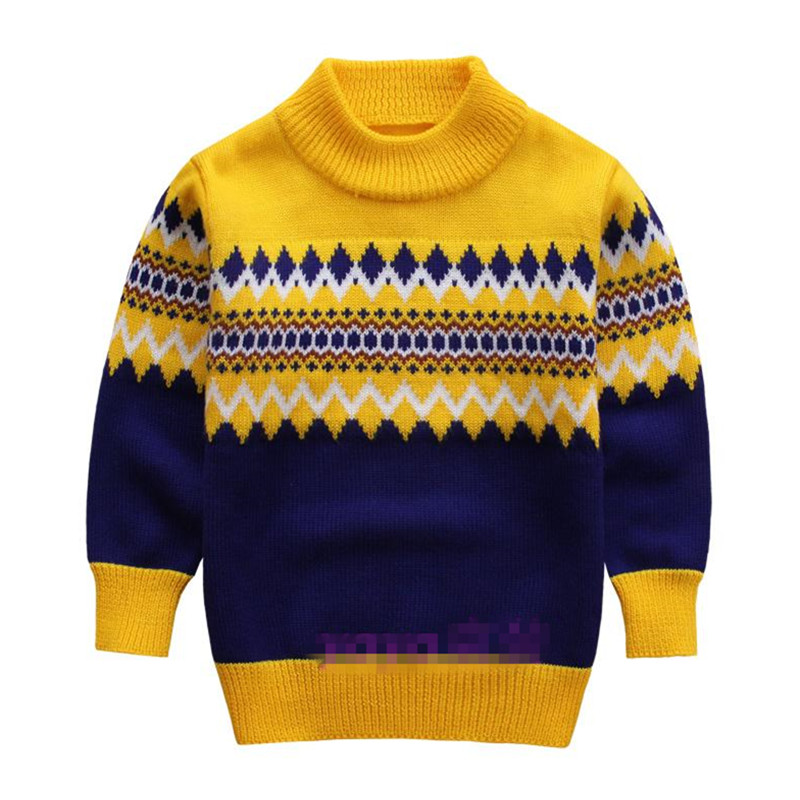 Knitted Sweater For Boys 2015 Autumn Winter Boy Sweater