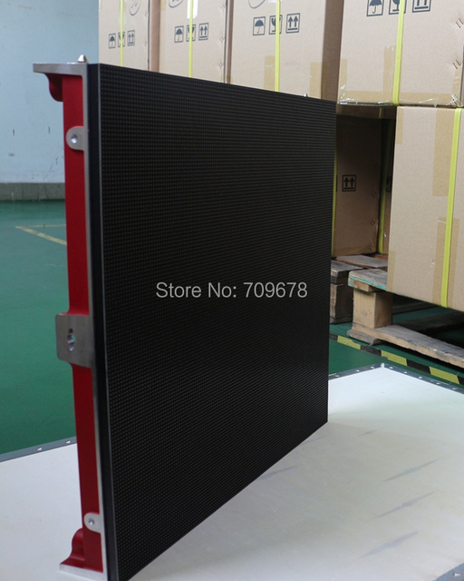 P6.25 Indoor Rental Aluminum Die casting LED Display Cabinet 500*1000mm Including Receiving Card (P3.91/P4.81/P5.95 available)