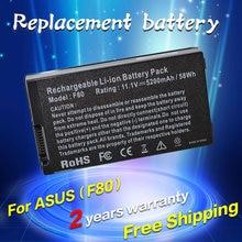 JIGU Batterie D'ordinateur Portable Pour Asus X80H X80L X80Le X80N X81Sc X81Se X81Sg X81Sr X83Vm X80Z X85S X85SE X88 A32-F80 A32-F80A A32-F80H
