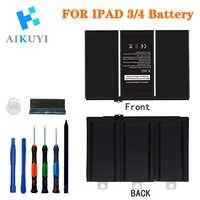 Nouvelle batterie de tablette pour iPad 3/4 11560mAh A1403 A1416 A1430 A1433 A1459 A1460 A1389 batterie de remplacement + outils