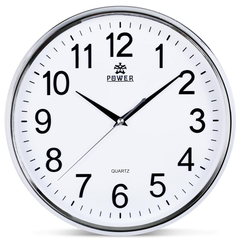 Power brand 12 inch circular large wall clock simple - Relojes de pared ...