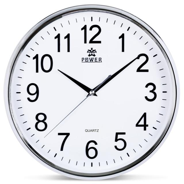 Reloj de pared grande circular de 12 pulgadas de marca de - Relojes de pared ...