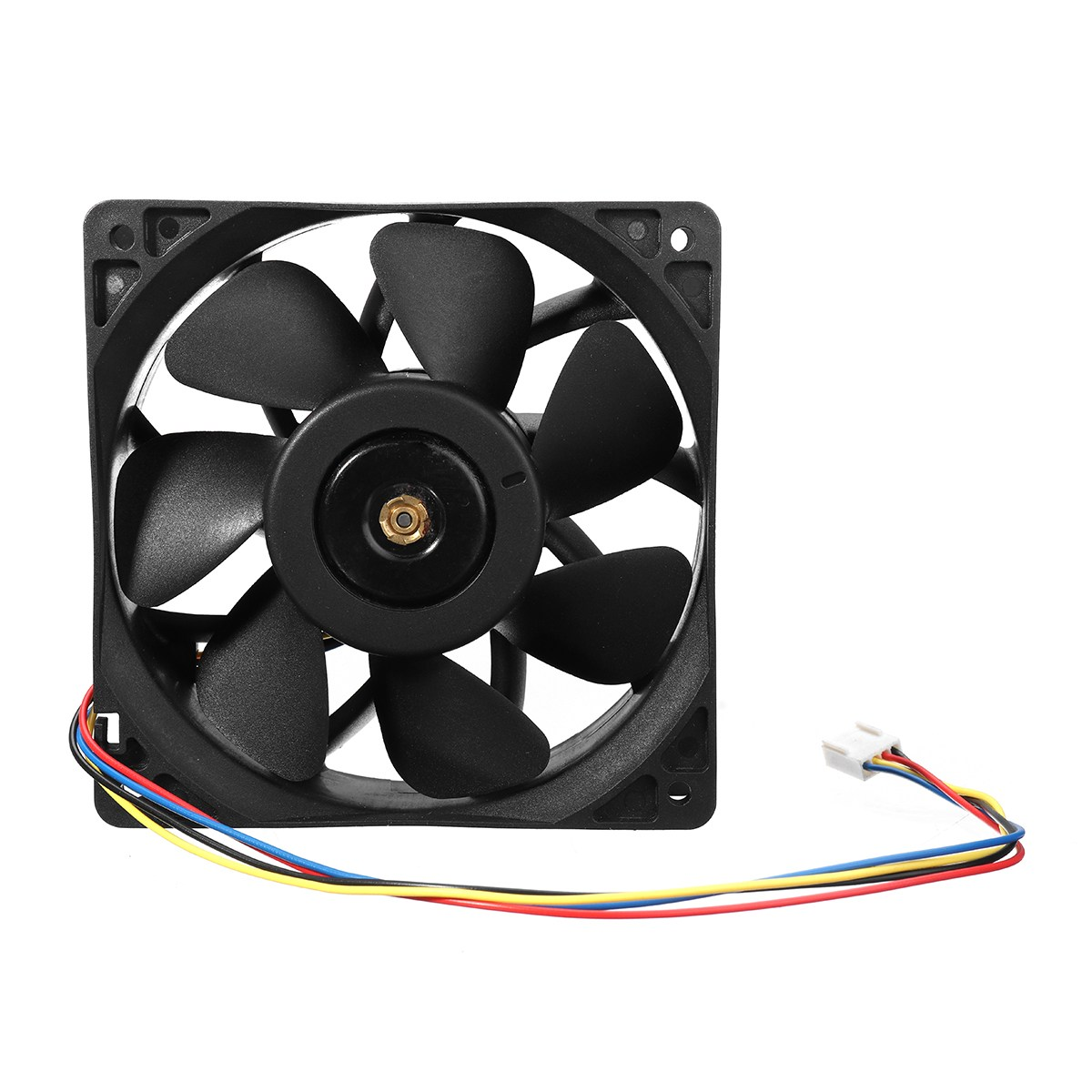 Cooling Fan 12V 2.7A 6000RPM Replacement 4-Wire Connector For Antminer S7 S9 a3c40094788 delta afc0712de 7k1m 38010022 double ball 4 wire pwm12v cooling fan for fujitsu for siemens for primergy rx300 s5 s6