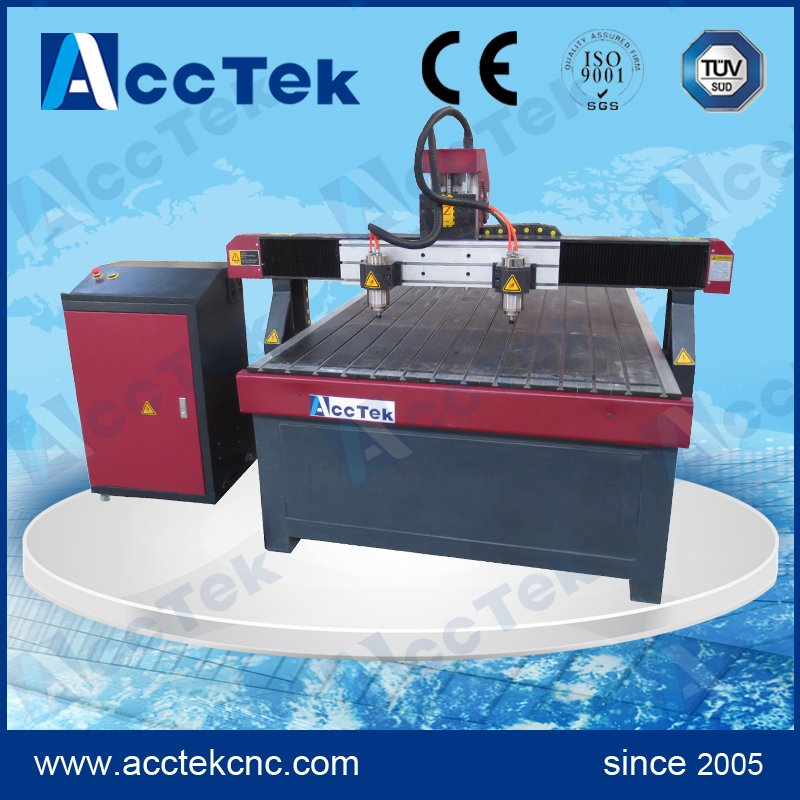 Low price made in China 3d models cnc router /spindle for cnc router AKG1218