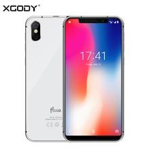 "Xgody Fluo N 4G Unlock Smartphone 5.7 ""19:9 Notch Screen Android 8.1 Dual Sim Mobiele Telefoon 3 Gb + 32 Gb Gezicht Id Mobiel 2500 Mah"