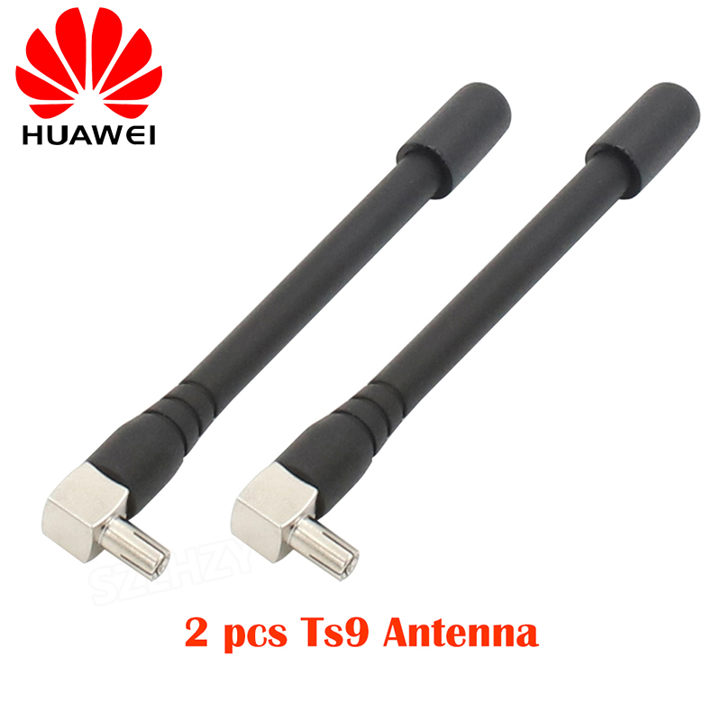 2 pz/lotto 4G WiFi TS9 Antenna Wireless Router Antenna per HUAWEI E5377 E5573 E5577 E5787 E3276 E8372 zte MF823 3G 4G Modem