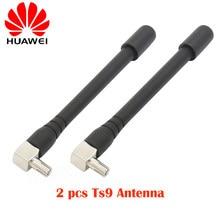 Antena roteadora sem fio 2 pçs/lote 4g, antena wifi ts9 para huawei e5377 e5573 e5577 e5787 e3276 pro zte mf823 modem 3g 4g