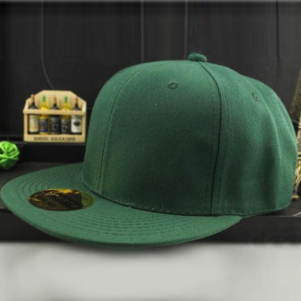 17 Colors Adjustable Men Women Baseball Cap Solid Hip Hop Snapback Flat Peaked Hat Visor