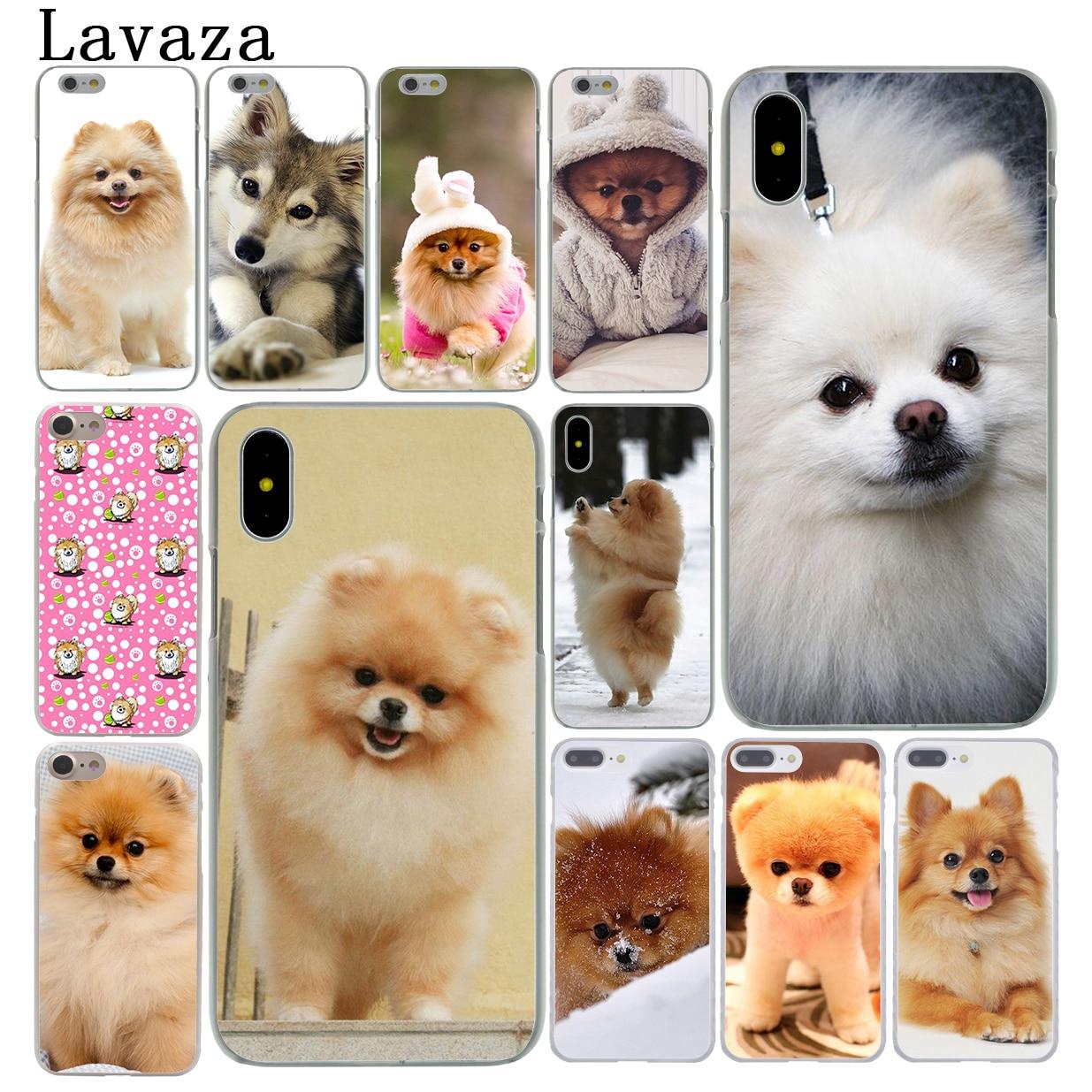 Lavaza Pomeranian dogs dog cute Hard Cover Case for Apple