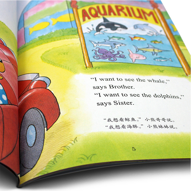 6 Books/Set I Can Read Bilingual Picture Book In Chinese And English Wholesale