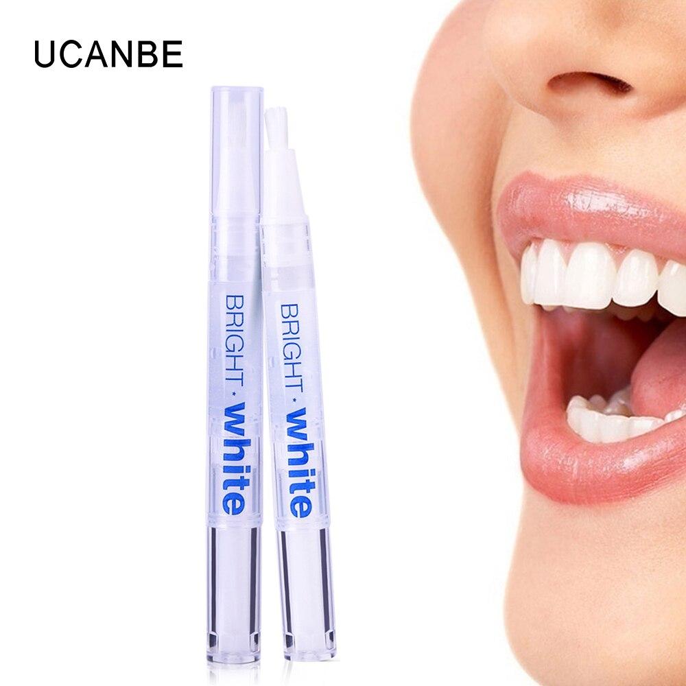 UCANBE 1 шт., осветление и отбеливание зубов пероксидным гелем, набор для удаления пятен, яркие 3d-отбеливатель для ухода за зубами