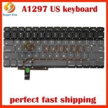 5pcs/lot US American English Keyboard for Apple Macbook Pro 17″ A1297 US Keyboard 2009 2010 2011 MB604 MC226 MC024 MC725 MD311