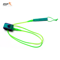Surfing 6ft 12ft 7mm Surfboard Leash Rope Stand Up Paddle Board Leash Polyurethane TPU Nylon Stainless