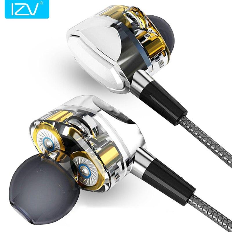 Изв двойной G2 Pro Dual драйвер Системы Наушники глубокий бас HiFi совершенное качество звука сабвуфер Динамический драйвер наушники-вкладыши