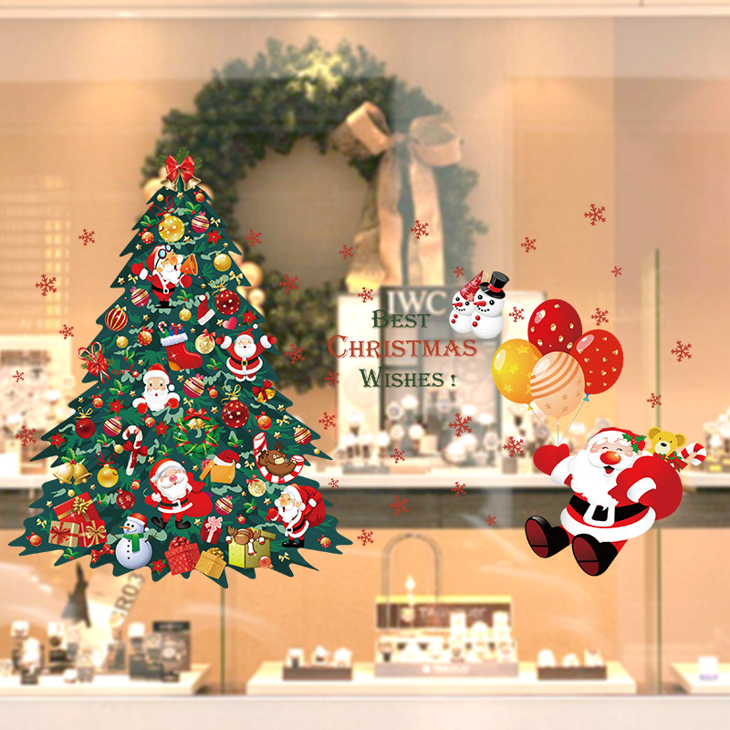 Shopping Malls Clothing Shop Window Glass Wall Stickers