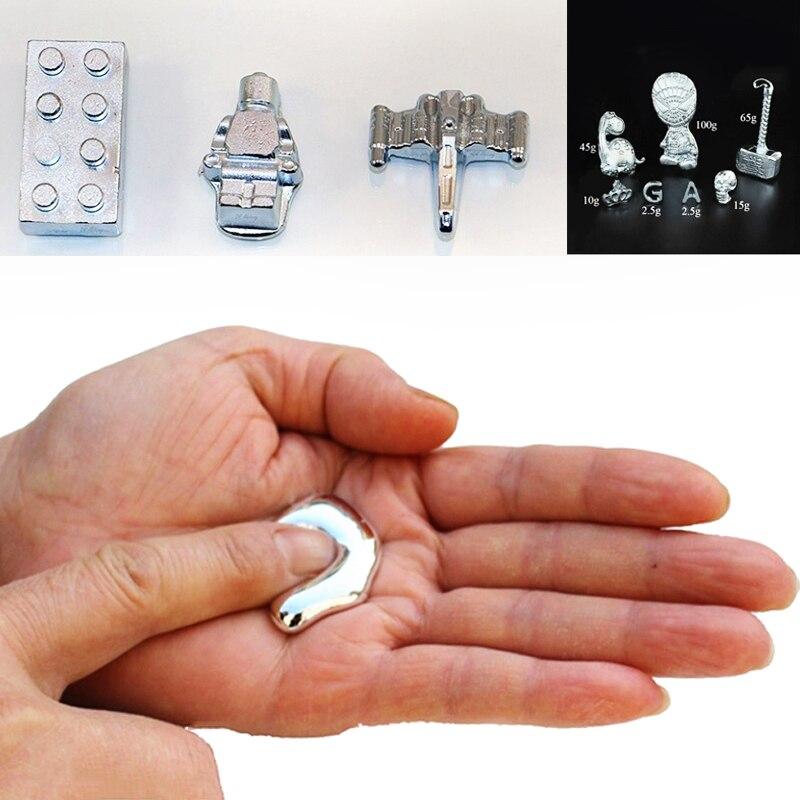 5g DIY Creative Toys Supplies Gallium Metal Galia Liquid Gallium Metal 99% Pure Consumables Material Accessories Handmade Gifts