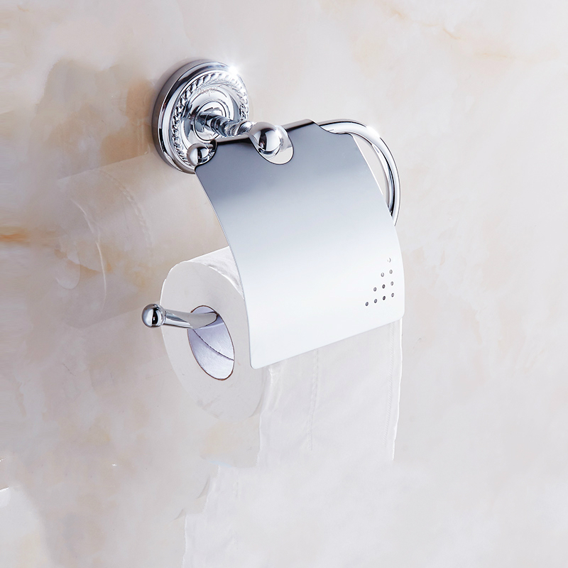 Antique Polished Silver Toilet Paper Holder Chrome Brass Roll Paper Holder bathroom paper toilet holder Bathroom Accessories wd1 luxury bathroom toilet paper holder copper antique toilet paper rolls bathroom paper storage basket bathroom accessories