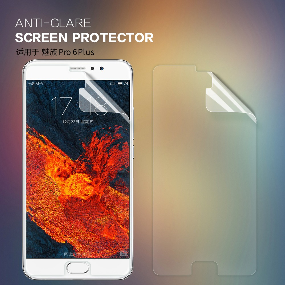 Nillkin for Meizu Pro 6 Plus film HD Scrub Front +camera film screen protector protective clear matte film