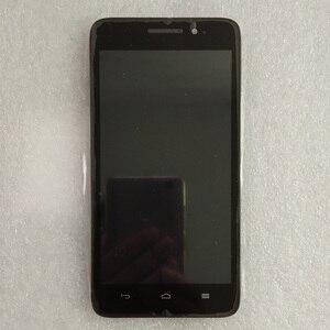 """Image 2 - 5.0 """"preto com moldura para huawei ascend g620s display lcd com tela de toque digitador sensor montagem do painel frete grátis"""
