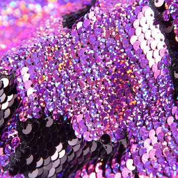 PYJTRL Tide Men Double-Color Purple Black Gold White Sequins Blazer Fashion Punk Nightclub Bar DJ Singers Suit Jacket Costumes