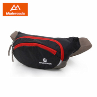 Maleroads Waterproof Running Waist Bags Utility Fanny Pack Ultralight Sport Cycling Belt Money Cell Phone Pocket