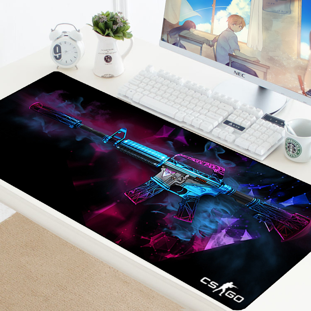 Mousepad CS GO Designer Mousepad Speed Mat Pad Grande Rubber Keyboard Gaming Large XL Gamer CSGO