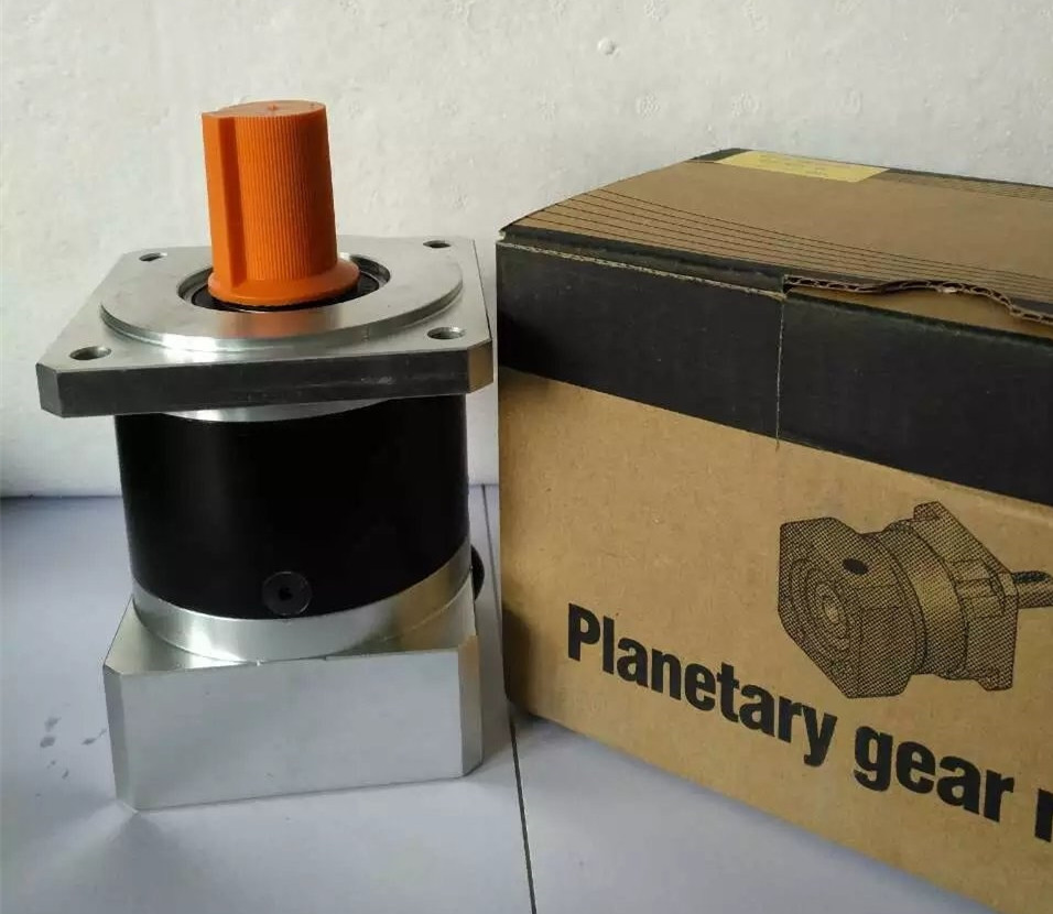 PF060-020 economic planetary gear reducer ratio 20:1 for Delta panasonic 200w 400w 60mm AC servo motor NEMA23 stepping motor dvopm20036 for panasonic servo motor