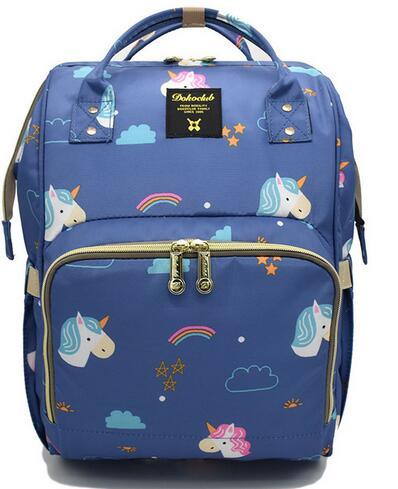 Brand Baby Diaper Bag Mummy Maternity Nappy Bag Large Capacity Unicorn Backpack Nursing Bag Stroller Bag Machila Maternidade