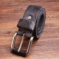 Hongmioo New Designer Belts Men High Quality Luxury Brand Leather Belt Pin Buckle Black Brown casual style