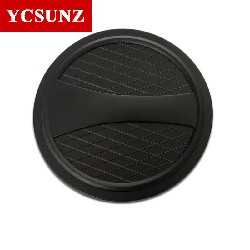 2016-2019 For <font><b>Mitsubishi</b></font> L200 Accessories Matte Black Fuel Tank Cap Cover For <font><b>Mitsubishi</b></font> L200 Pickup Fuel Cover Ycsunz image
