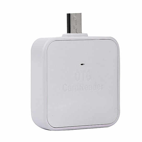 Computer Accessories 2 In 1 Card Reader OTG TF/SD Smart Card Reader High Quality Adapter Card Reader For Android Smartphone L022
