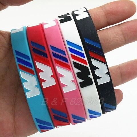 Series Wrist BMW Silicone Club Bands Wristband Bracelet